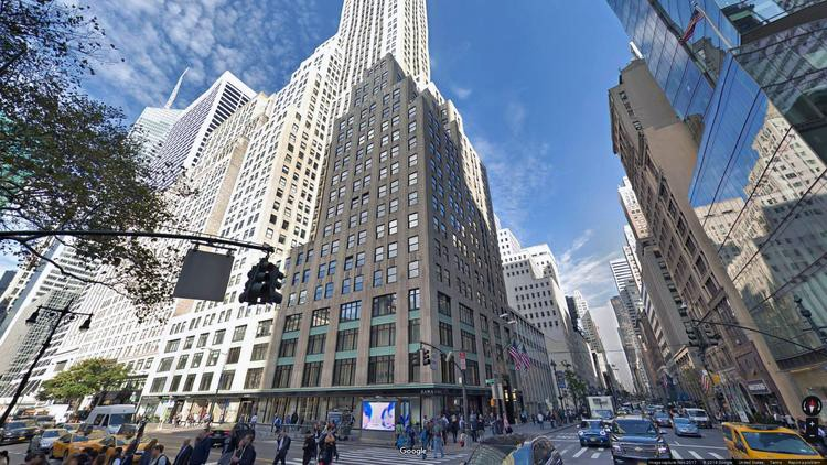 lease office 500 fifth avenue