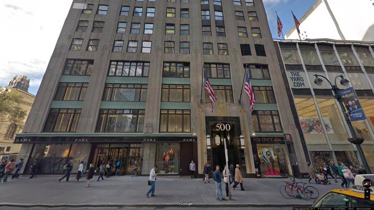 rent office 500 fifth avenue