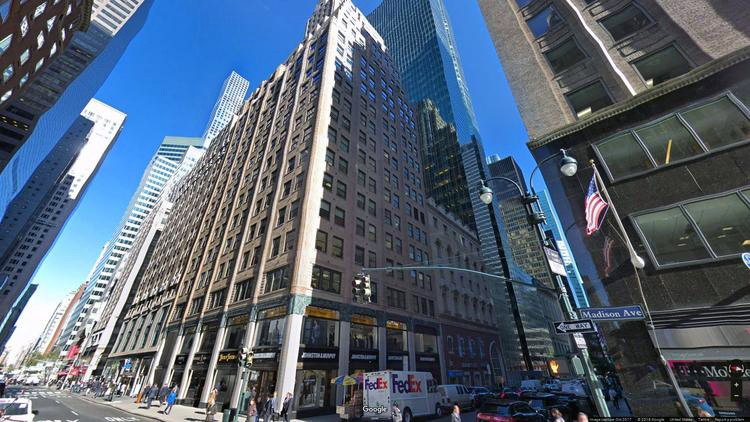 lease office 501-505 madison avenue