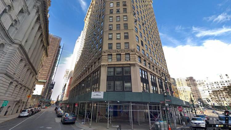 rent office 52-58 duane street