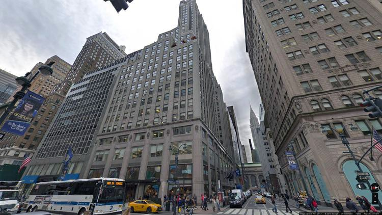 lease office 521 fifth avenue