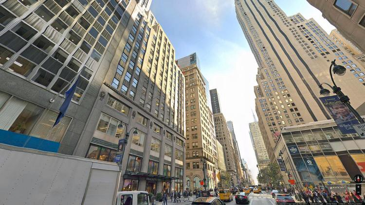 rent office 521 fifth avenue