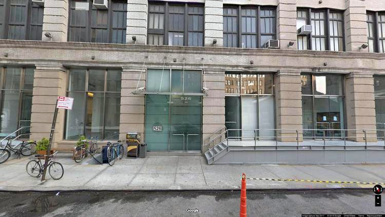 rent office 526 west 26th street
