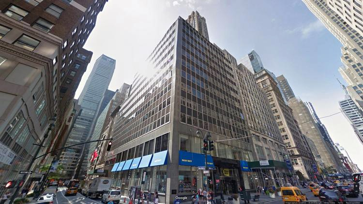 lease office 529 fifth avenue