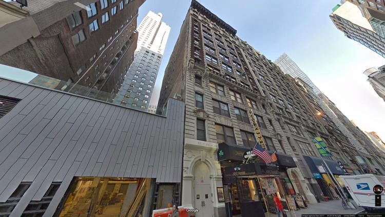 lease office 53 west 36th street