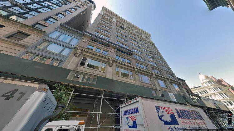 let office 54 west 21st street