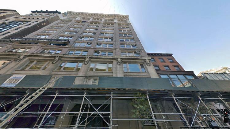 lease office 54 west 21st street