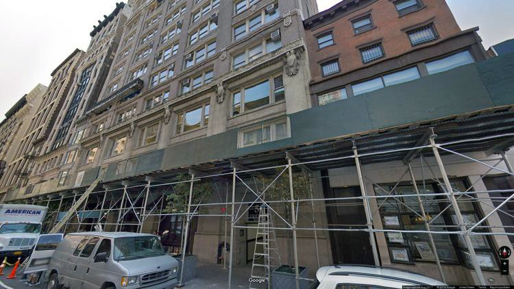 rent office 54 west 21st street