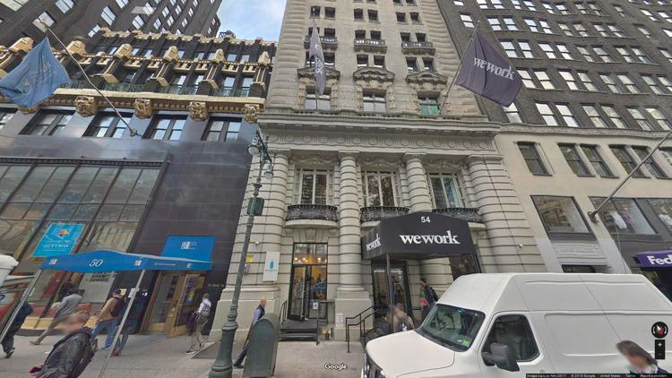 rent office 54 west 40th street