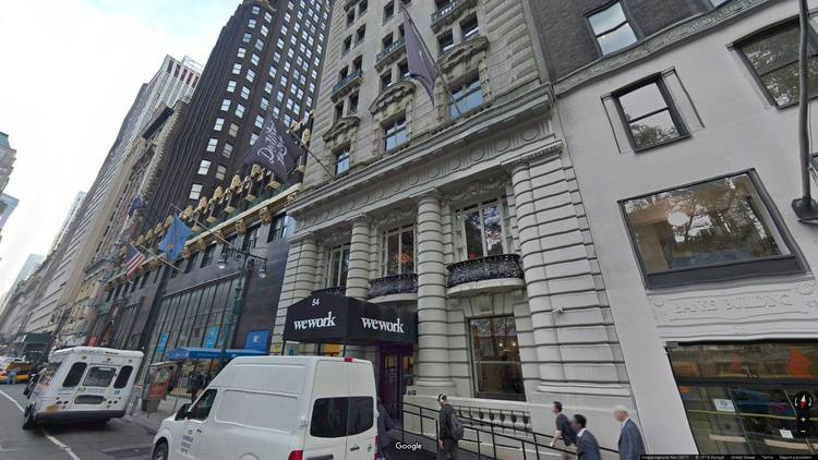 lease office 54 west 40th street