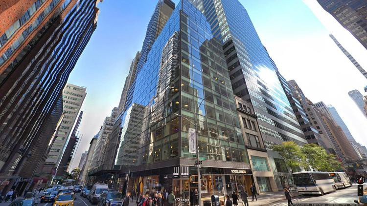 lease office 545 madison avenue