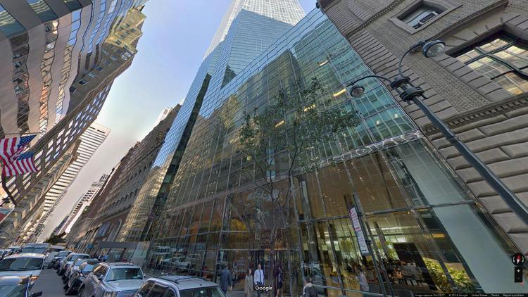 lease office 55 east 52nd street