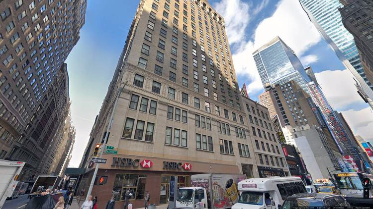 lease office 550 seventh avenue