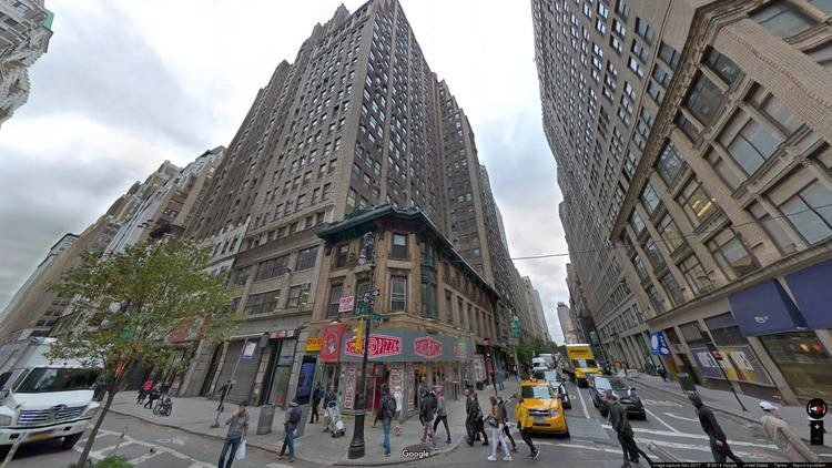 lease office 555 eighth avenue