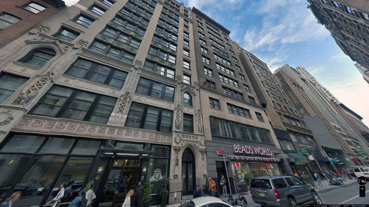 lease office 57 west 38th street