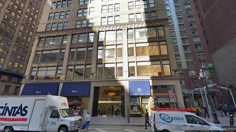 rent office 575 eighth avenue