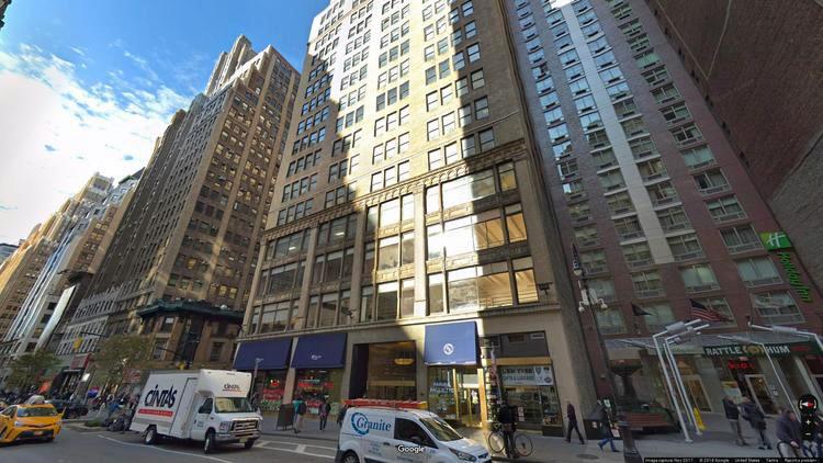 lease office 575 eighth avenue