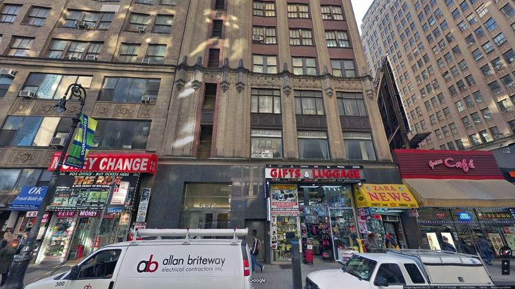 rent office 580 eighth avenue