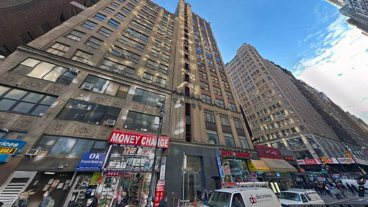 let office 580 eighth avenue