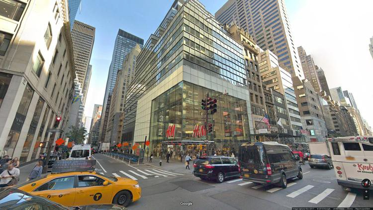 rent office 589 fifth avenue