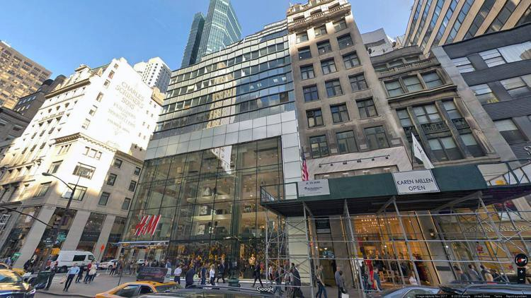let office 589 fifth avenue
