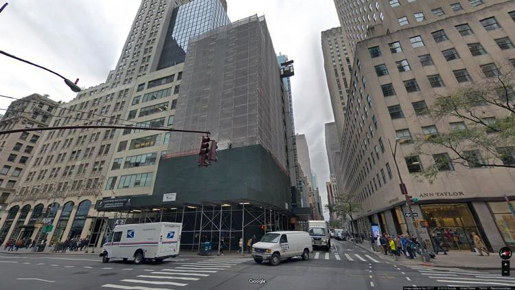 lease office 592 fifth avenue