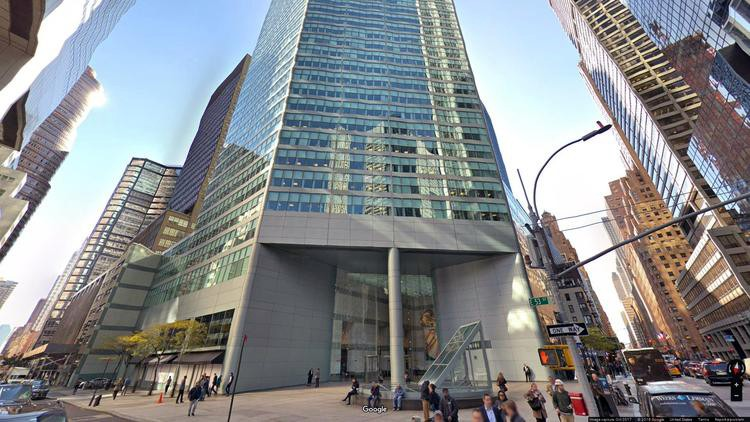 lease office 599 lexington avenue