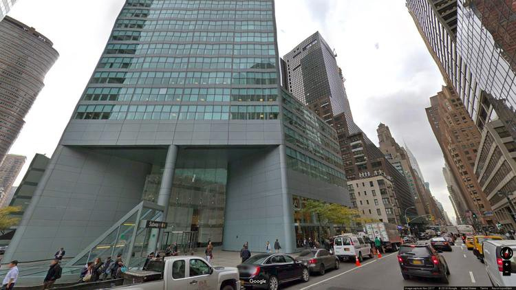 rent office 599 lexington avenue