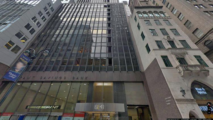rent office 6 east 43rd street