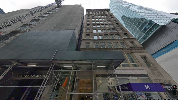 let office 6 west 48th street