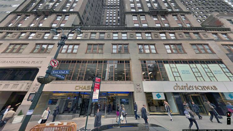 lease office 60 east 42nd street