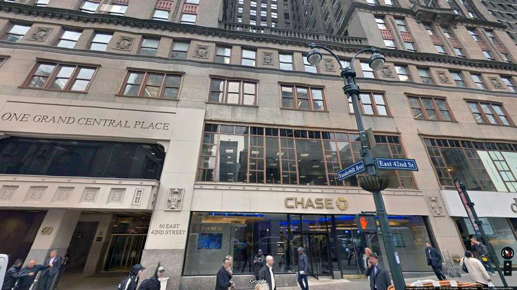 rent office 60 east 42nd street