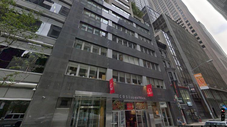 lease office 60 east 56th street