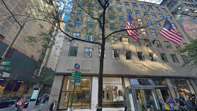 lease office 600 fifth avenue