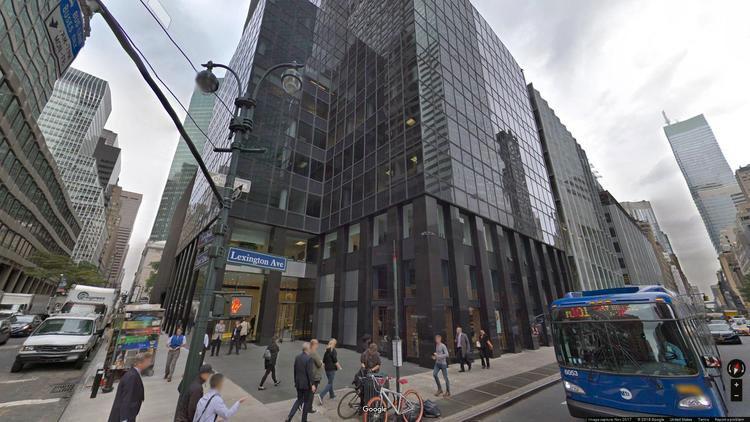 lease office 600 lexington avenue