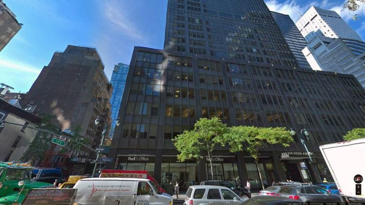 lease office 600 third avenue