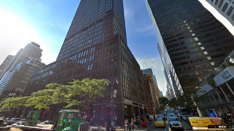 lease office 605 third avenue