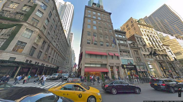 lease office 609 fifth avenue