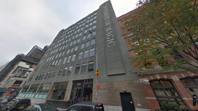 rent office 609 greenwich street