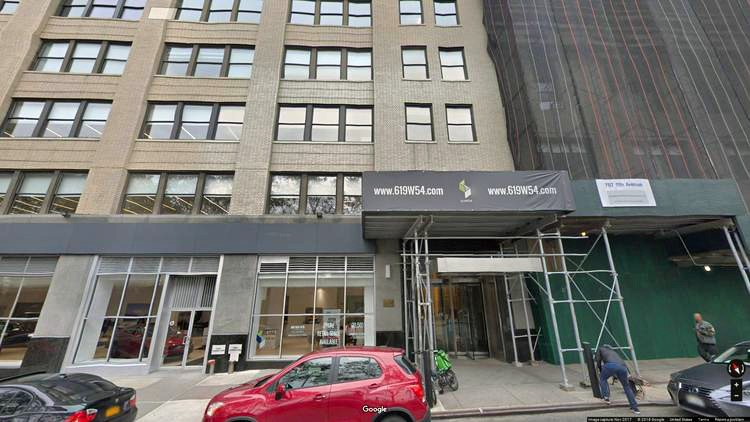 rent office 619 west 54th street