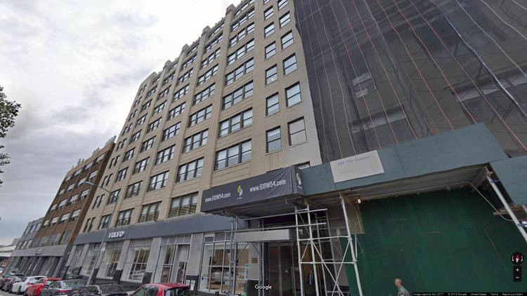 lease office 619 west 54th street