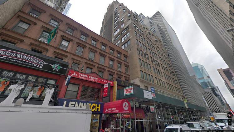 lease office 64 west 48th street