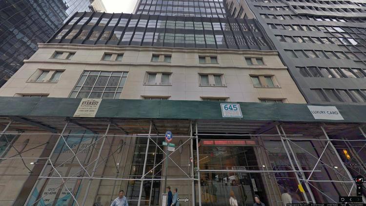 rent office 645 madison avenue