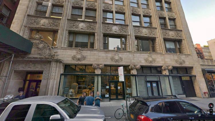 lease office 65 bleecker street