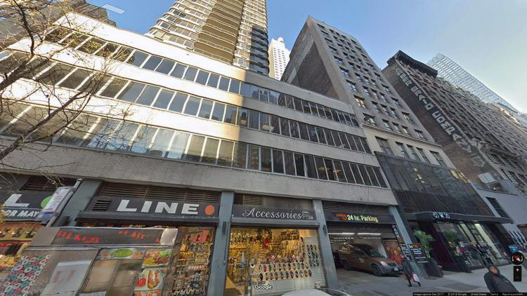 lease office 65 west 36th street