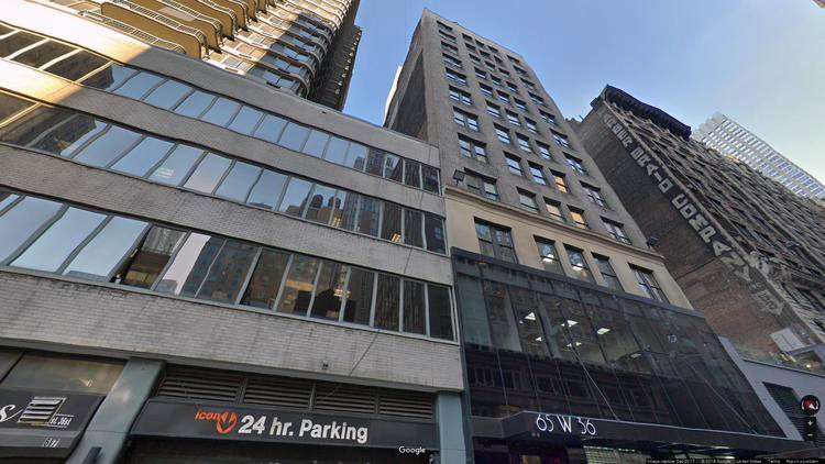 let office 65 west 36th street