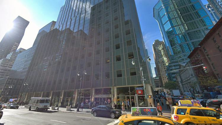 lease office 666 third avenue