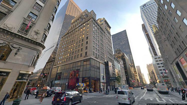 lease office 685 fifth avenue