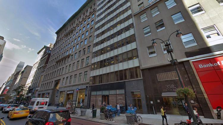 lease office 7 west 34th street