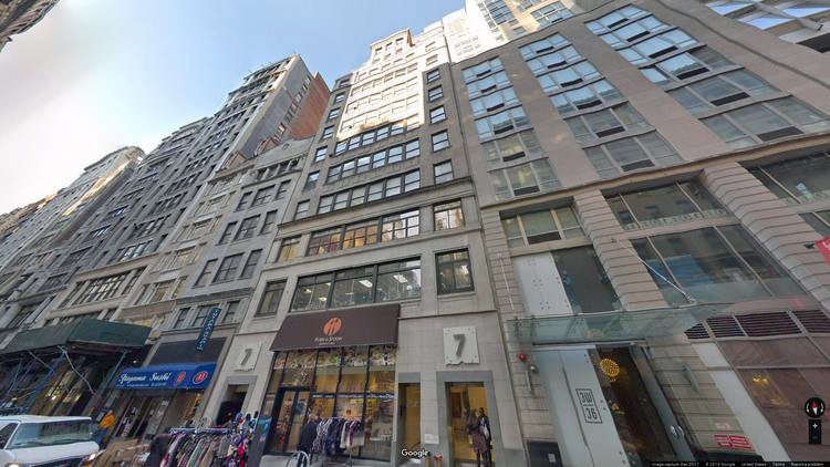 lease office 7 west 36th street